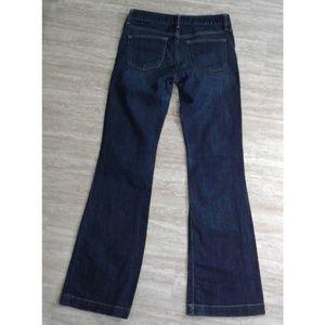 GAP Jeans - Gap 1969 Dark Wash Flare Low Rise Jeans 27/ 4 Tall